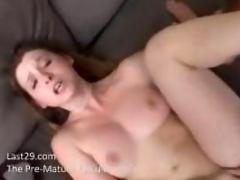 Sunny lane fucked on couch