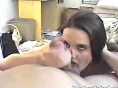 Amateur wife fucking while husband films
