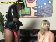 Black lesbian dominatrix