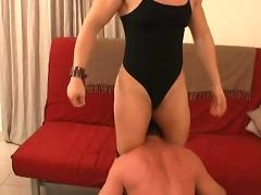 Mixed wrestling with alina popa