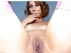 Sexy girl creamy squirt