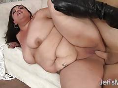 Jeffs models randy bbw enjoys hard fuck