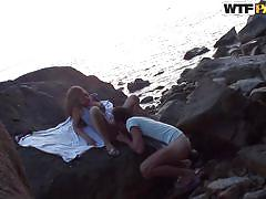 beach, deepthroat, amateur, pussy licking, from behind, outdoors, brunette babe, oral sex, private tape, porn weekends, wtf pass, cleopatra rios
