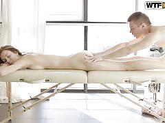 Serpente's masseur makes her slither