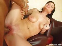 All internal aphrodite is fucked, filled with sperm and cum oozes out