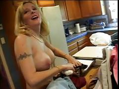 Black dude banged by a hot milf
