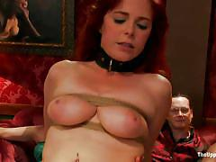 redhead, tied, domination, milfs, ass fuck, moaning, fuck fom behind, bullying, the upper floor, kink, penny pax, bella rossi, mickey mod