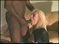 Slutty blonde fucked again