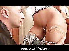 Omar galanti eats a girl's ass in the bathroom