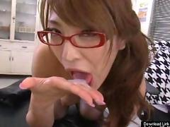 Asian nurse treats her patient
