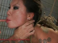 Asa akira is a nasty asian sex slave