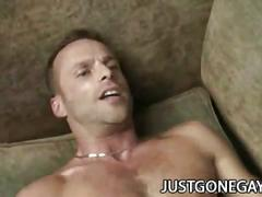 Amateur straight studs first time bare anal attack
