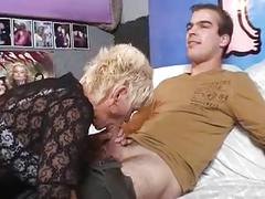 Dutch granny fucked