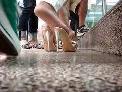 Shoe playing in miami international airport!
