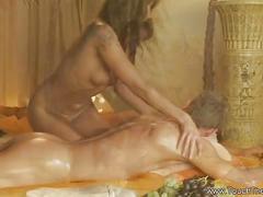 Asian exotic body massage