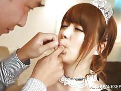 teen, asian, uniform, blowjob, cosplay, censored, pussy fingering, finger sucking, j cos play, all japanese pass, yui nishikawa