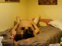 Teen girl's giant tits jump when she rides her bf