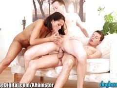 anal, bisexuals, cuckold, cumshots, threesomes