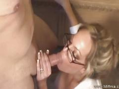 Sexy secretary mia fucking her boss in the office