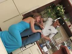 Blue dress hard
