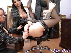 Glam domina ass fisted