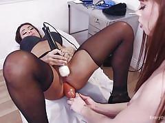 Nurse nova does a deep examination