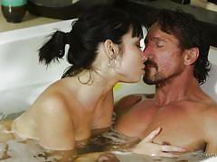 Hot nuru massage and a blowjob