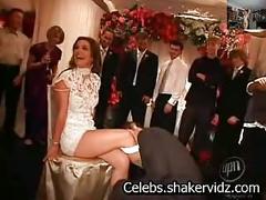 Britney spears wedding garter