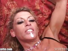 Whiteghetto dirty talking milf creampied