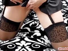 Panty stuffing anal creampie!?! shanda fay!