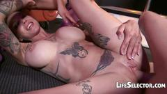 Anna bell peaks and saya song enjoy being fucked hard