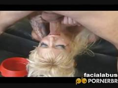 Hot arab whore gagging for cock