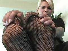 Foot worship pov