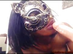 Sexy ebony pussy cat nyla storm!