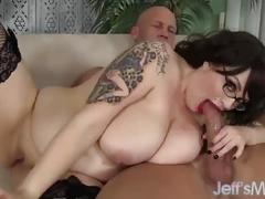 Big tittied brunette marilyn mayson fucked