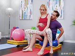 teen, blonde, anal, rimjob, big dick, from behind, pussy eating, teens like it big, brazzers, kyle mason, chloe cherry