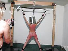 bdsm, pissing, babe, torture, bound, sex slave, disgrace, rope bondage, sensual pain, abigail dupree, master james