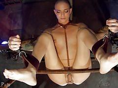 anal, bdsm, babe, anal dildo, butt plug, sex slave, device bondage, sensual pain, abigail dupree, master james