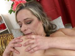 Mature bigtit mother needs a good sex