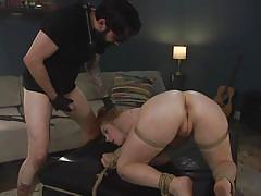 milf, bdsm, big ass, redhead, big cock, whipping, punishment, domination, face fuck, from behind, rope bondage, sex and submission, kink, penny pax, tommy pistol