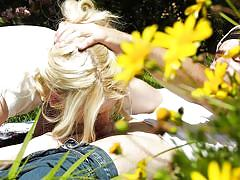 blonde, handjob, babe, outdoor, deepthroat, ball sucking, out of the family, devils film, nathan bronson, kenzie reeves