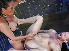 tranny, domination, anal sex, handjob, busty, cock riding, tattooed, muscular, ts seduction, kink, jessica fox, colby jansen