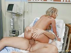 milf, blonde, handjob, round ass, big cock, nurse, deepthroat, anal fingering, patient, cowgirl, riding cock, at work, doctor adventures, brazzers network, keiran lee, carmen caliente