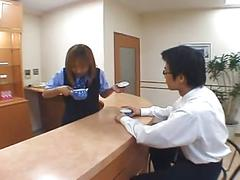 Japanese ol spitting in guy's tea