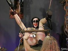 Penelope gets trapped, bound and fucked
