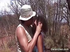 Sexy safari sex orgy