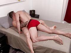 Hunky army gay men love sucking dick