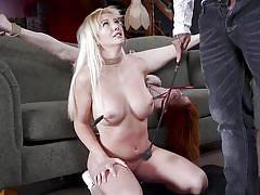 milf, blonde, threesome, bdsm, big tits, babe, redhead, big cock, whipping, deepthroat, punishment, rope bondage, mff, families tied, kink, lauren phillips, derrick pierce, paisley porter