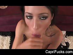 Capri's big dick pov bj