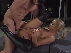 Two horny blondes for kristof cale @ rocco's time master sex witches sc. 2